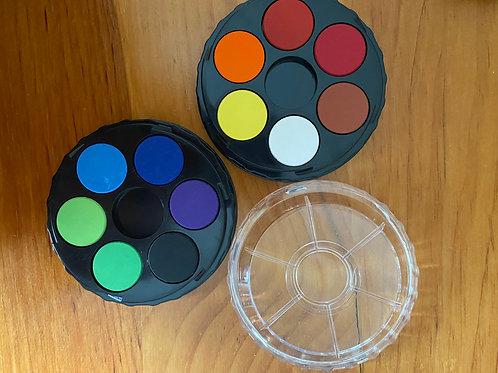 Compact Watercolor Paints
