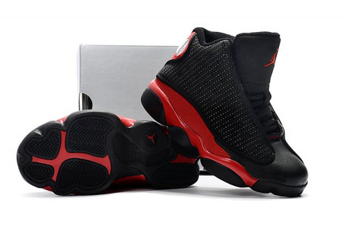 1d8c65f6fba6e3 Kids Hot Sale Preschool Jordan Retro 13 BG Black Gym Red Dirty Bred 414574  03