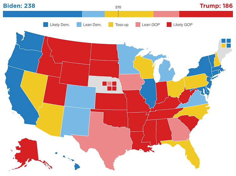 2020 Projected Electoral Map.png