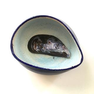 Blåmuslingskål