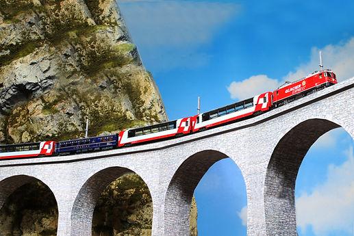 アルプスの機関車Ge44-2氷河特急_diorama.jpg