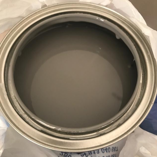 Gorgeous grey paint