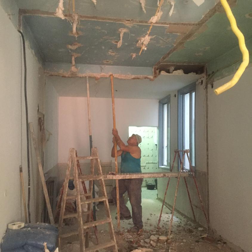 Raising ceilings