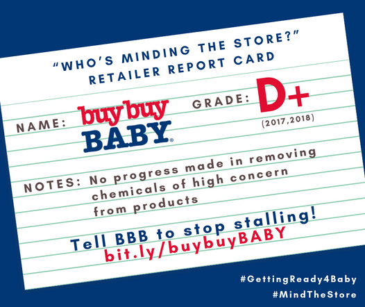buybuy BABY earns D+ for Second Year