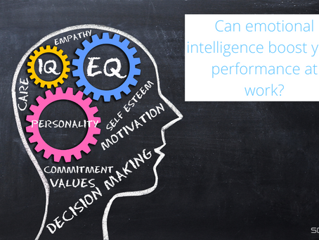 Can emotional intelligence boost your performance at work?