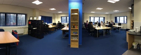 Ecommerce web developer TheGenieLab celebrates the opening of their new Cardiff office