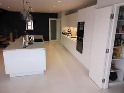 White Resin Floor, Kinsale, Cork
