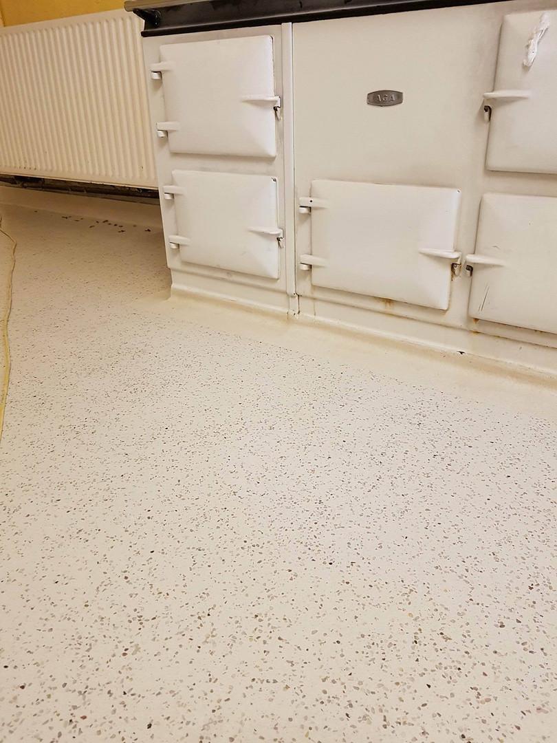 White limestone & mixed pebble Dekoscreed resin floor, Careysville House, Fermoy, Co. Cork