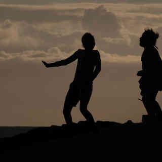 Tanz im Tsitsikama National Park, Südafrika