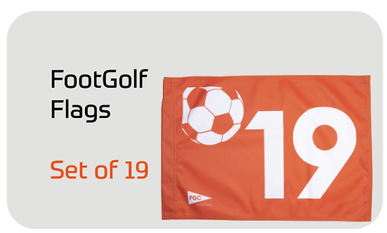 FootGolf Flags Set of 19