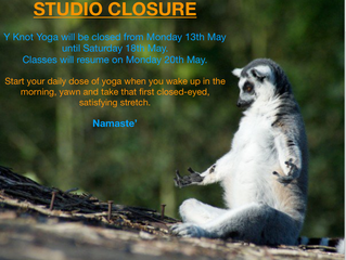 STUDIO CLOSURE