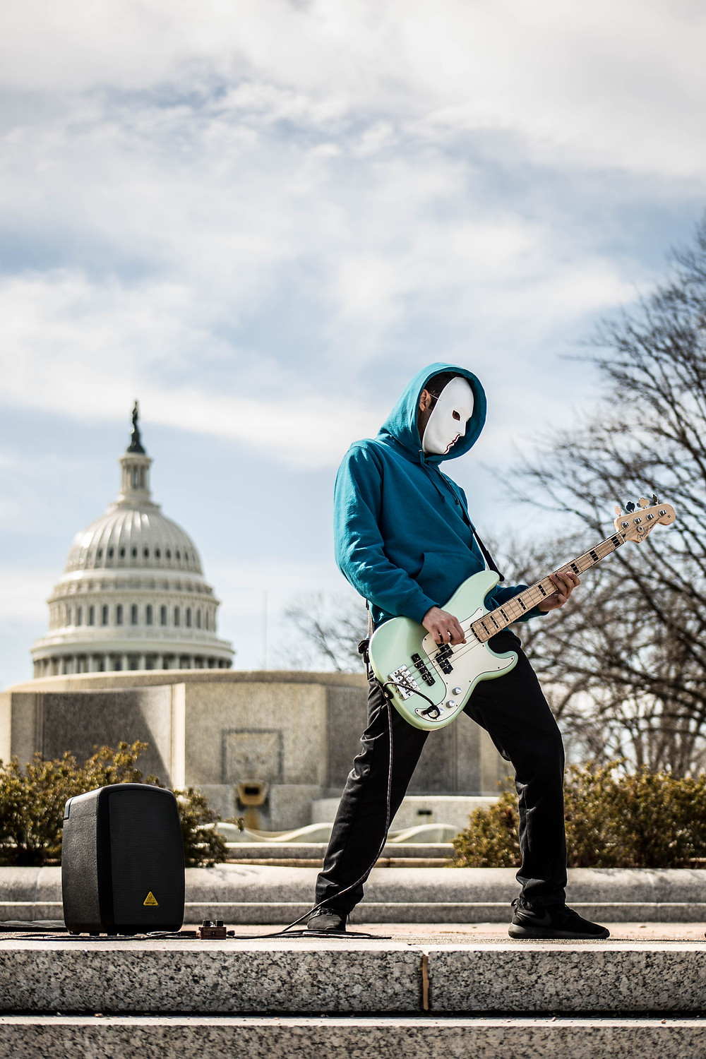 """""""Politricks"""" Band at March For Our Lives in Washington DC"""