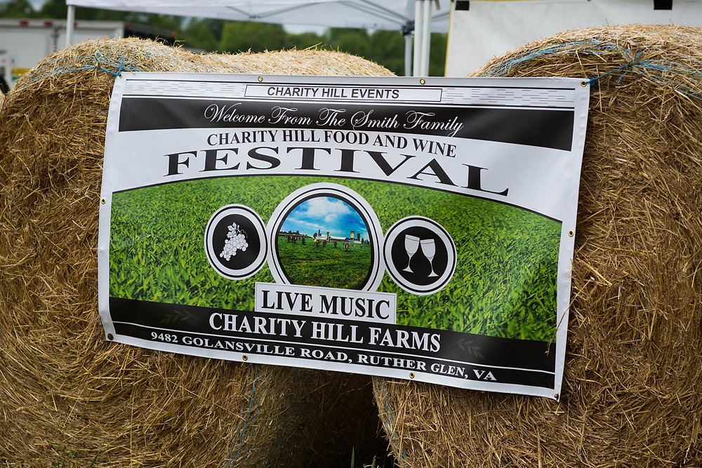 Charity Hill Food and Wine Festival in Ruther Glen Virginia with images by Mandy Lawrence Photography