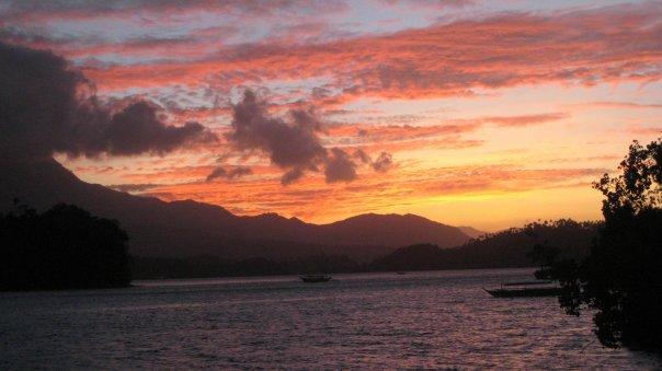 Sunset view from the Dalaruan