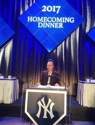Yankees Homecomming Gala 2017