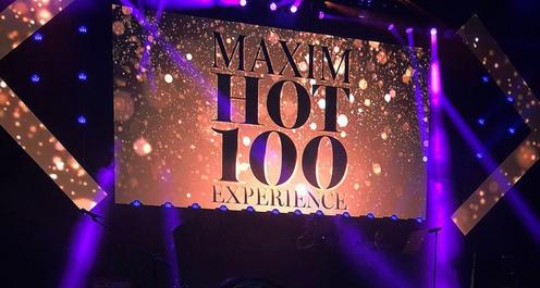 Maxim Hot 100 Experience