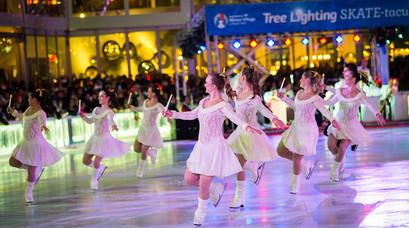 The Bryant Park Christmas Tree Lighting