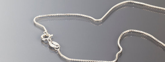 Sterling Silver Box Chain (1.0)