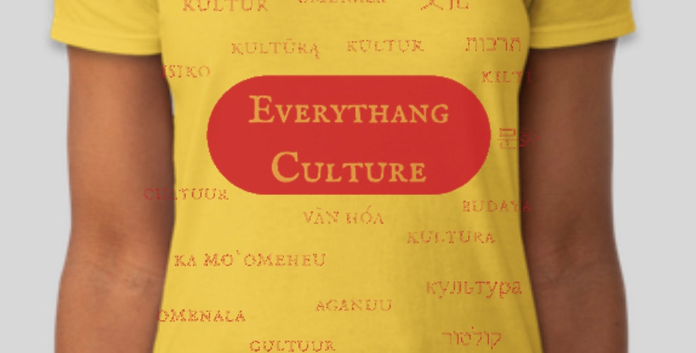 Everythang Culture Women's V Neck