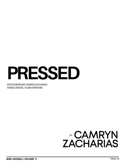 PRESSED - Mob Journal December 2020 Issue