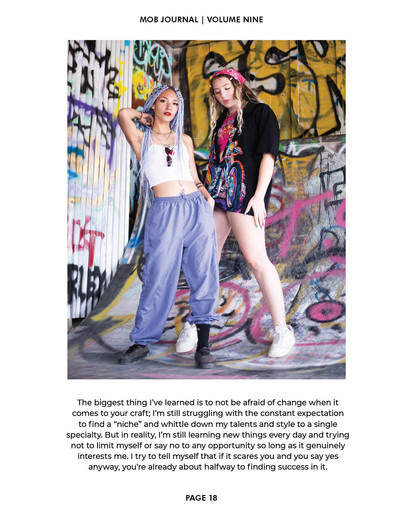 SYDxSELINA - Mob Journal October 2020 Cover Story