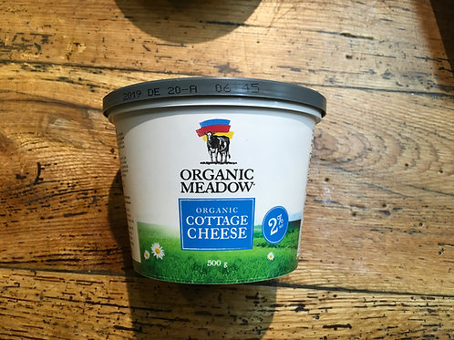 Cottage Cheese 2% -Organic Meadows