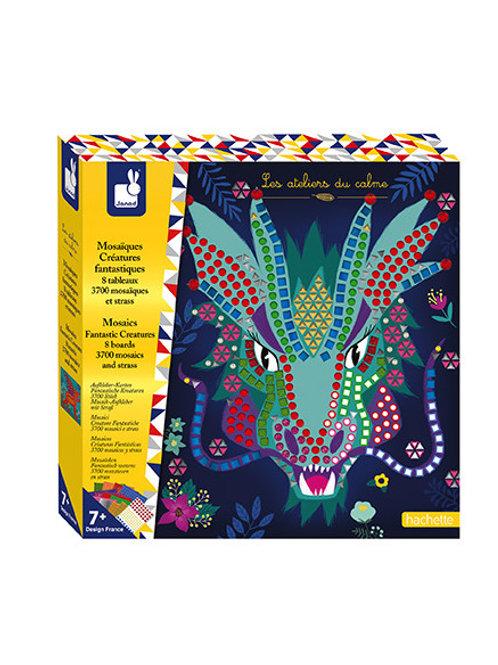 Mosaici creature fantastiche