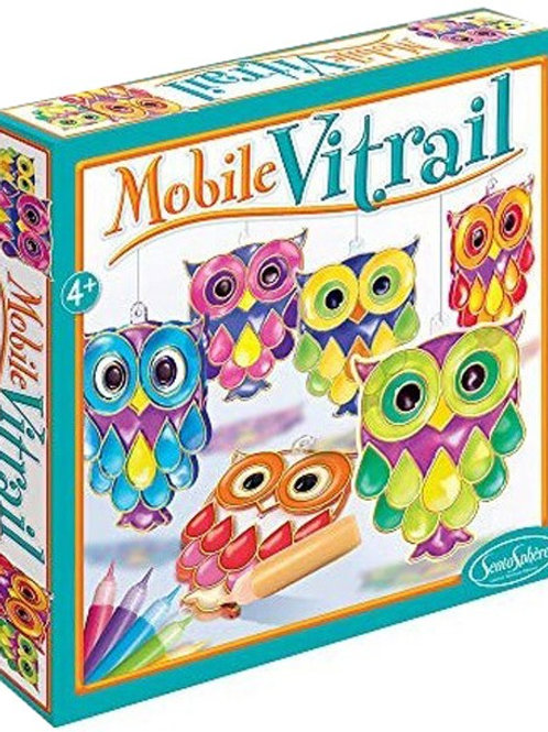 Mobile vitrail - gufetti