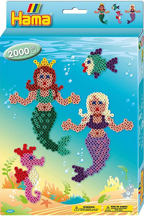 Perline da stirare - scatola 2.000 perle Sirene