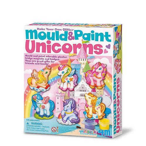 Modella e colora - unicorni