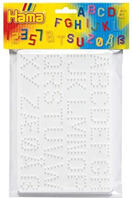 Perline da stirare - Base lettere e numeri