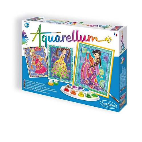 Aquarellum grande - Ragazze alla moda