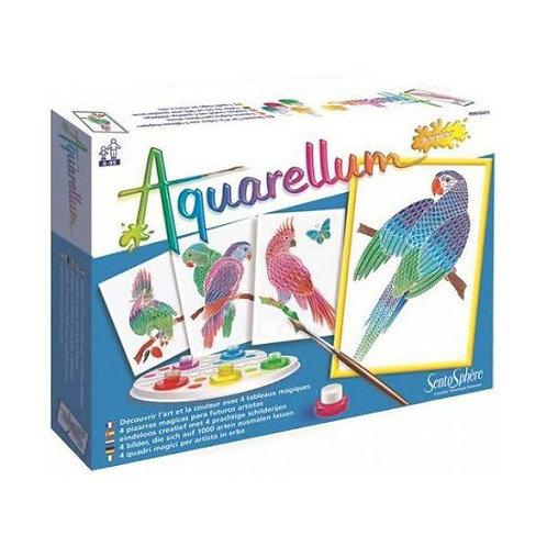 aquarellum - Pappagalli