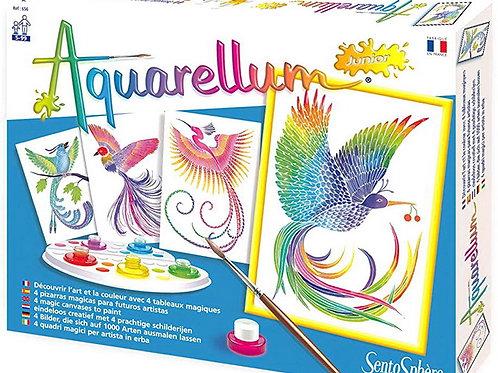 Aquarellum - Uccelli del Paradiso