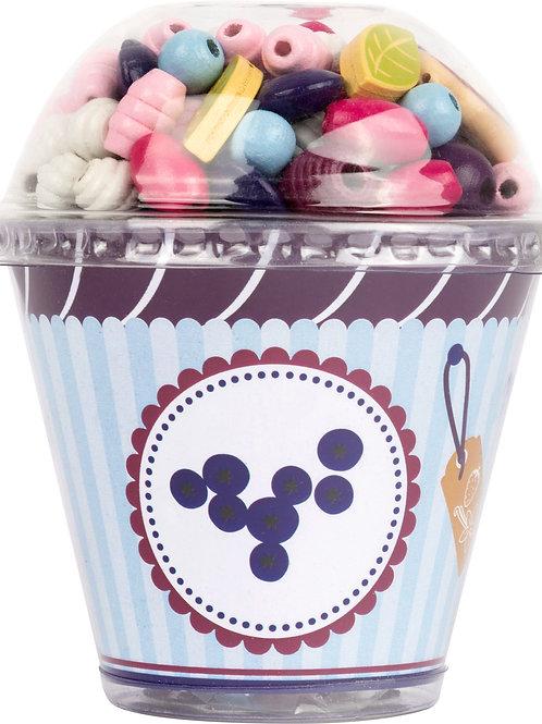 Perline da infilare Cupcake - vari soggetti