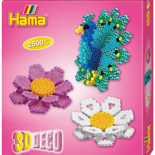 Perline da stirare - scatola 2.500 perle 3D deco