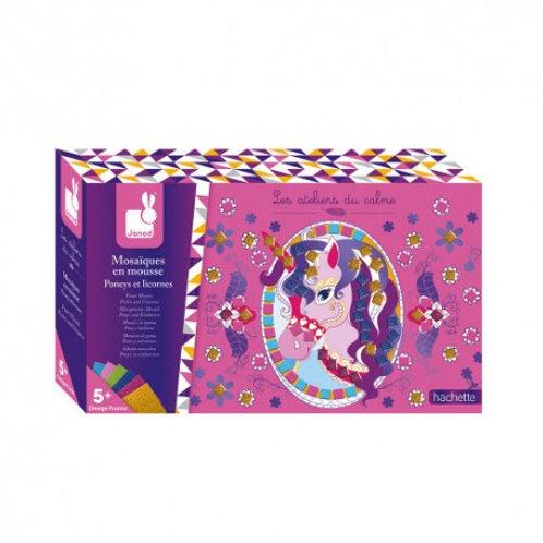 Mosaici pony e unicorni