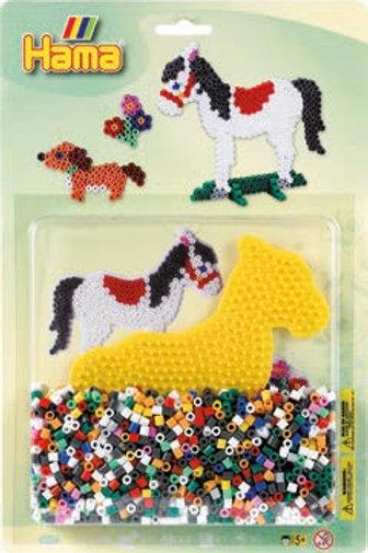 Perline da stirare - blister 1100 pz. cavallo