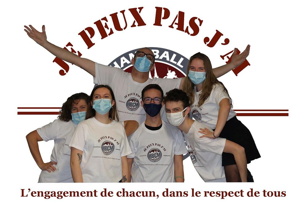 Remise de maillots aux séniors et U18 du HandBall Clermont Métropole