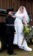 Truetimber camo and Lace Wedding dress