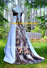 Mossy Oak Breakup Wedding dress