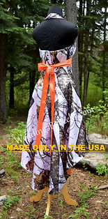 Camo Bridesmaid dress