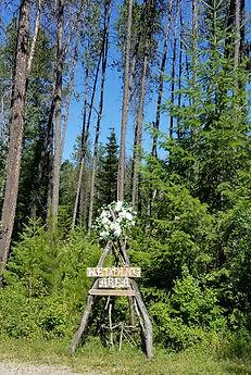 Heartland Ranch Weddings in the woods