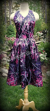 Candy- Camo Bridesmaid dress