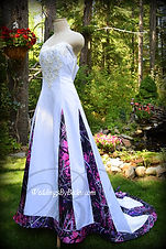 Muddy Girl Camo Wedding Dress