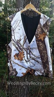 Mossy Oak Winter Vest