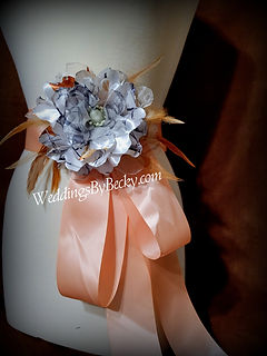 Camo Wedding Sash