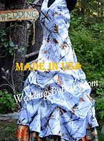 Truetimber camo wedding dress