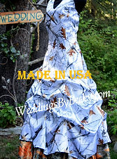 Truetimber camo wedding dress