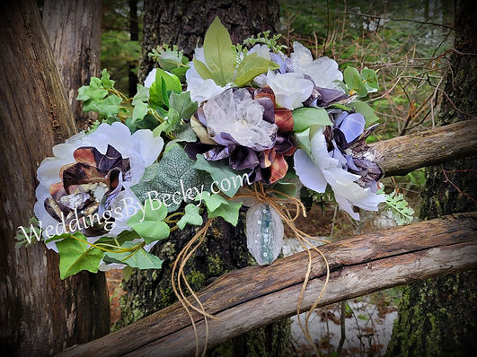 Large Camo wedding Bouquet